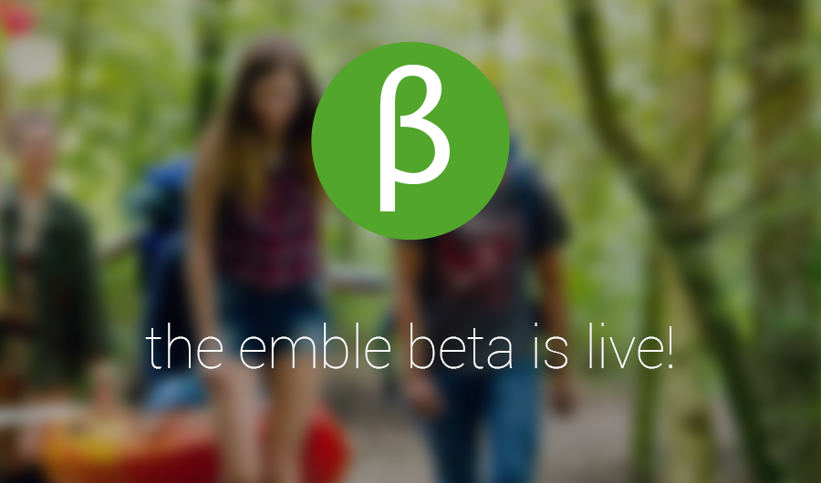 The emble beta is live!