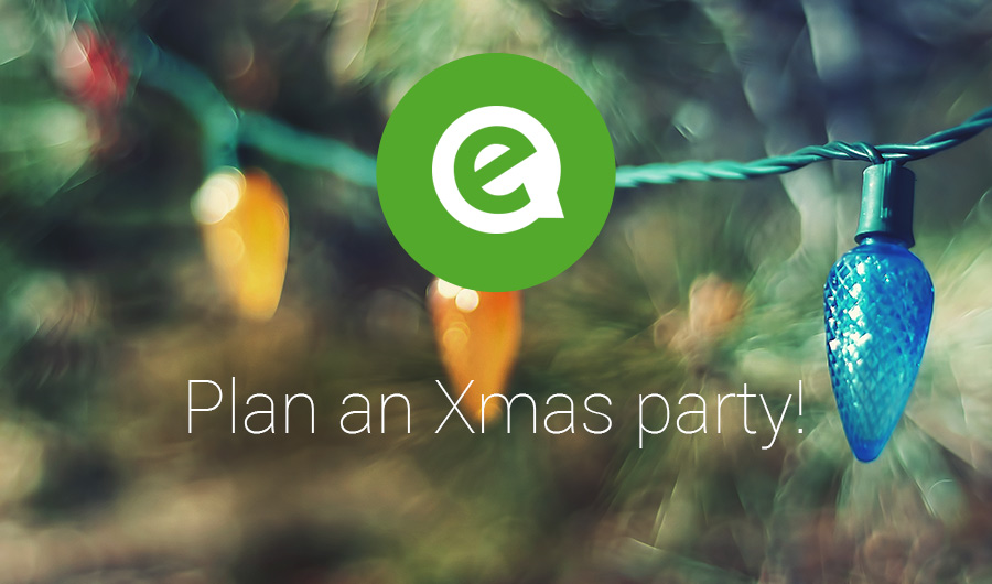 Plan your Christmas or New Years party with emble