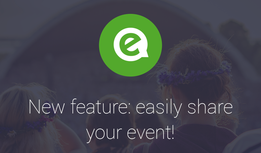 Easily share your event