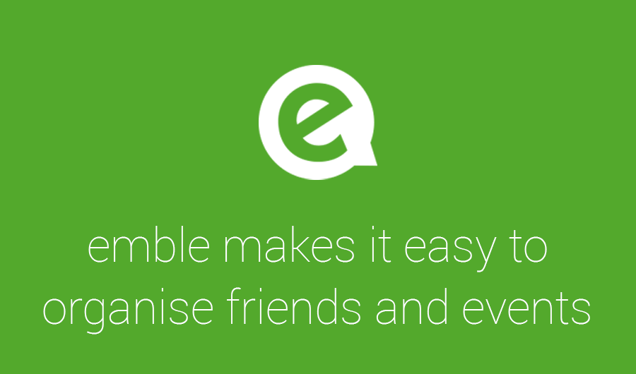 emble makes it easy to plan social events